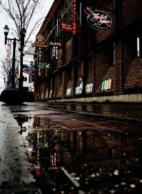 free photo of street  water