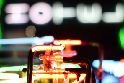 neon, lights, close up, glow, night, sign, vintage, retro, abstract, background, bokeh, electric