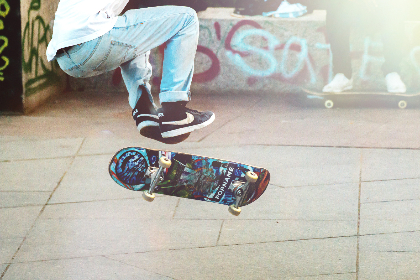 skateboard,  street,  man,  sneakers,  nike,  urban,  city,  road,  flip,  jump,   grafitti,  paint,  sport,  kid