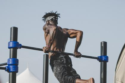 athlete, people, man, jump, fitness, exercise, health, sport, game, black, african american, muscle