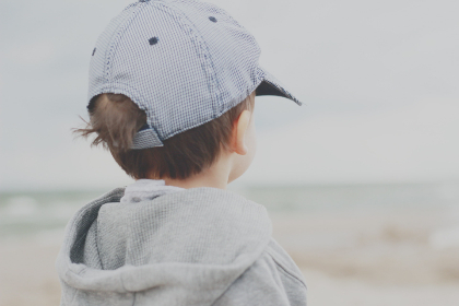small,  boy,  beach,  cap,  hat,  child,  toddler,  baby,  family,  sand