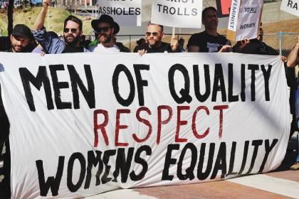 people, men, rights, protest, equality, sign, march, women