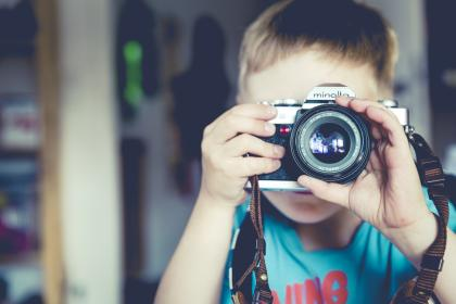 people. child, boy, camera, minolta, photography, shoot, picture, image