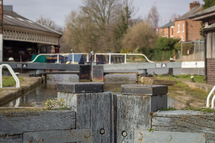 canal, locks, chester, boats