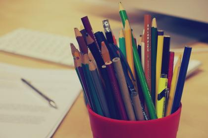 pencils, pens, stationary, office, desk, business, papers, documents, colors