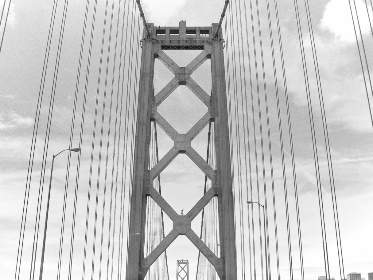 golden,  gate,  bridge,  travel,  driving,  monochromatic,  california,  abstract,  coast,  city,  road,  landmark,  architecture,  engineering,  cables, san francisco