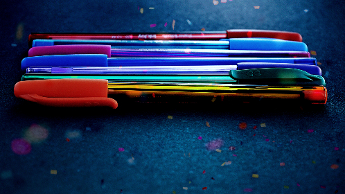 free photo of pens   color