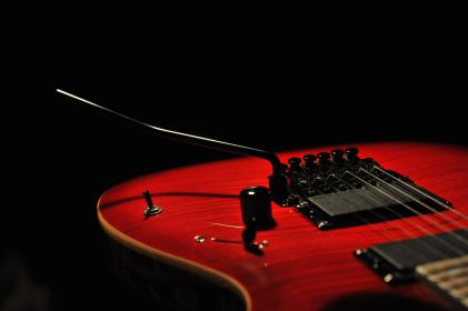 electric guitar, music, rock, ibanez, rock