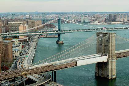 water, cars, city, urban, bridges, america, usa, nyc, new york