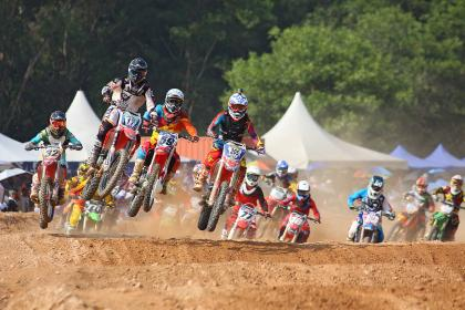 free photo of motocross  race