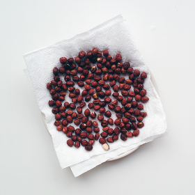 hazelnuts, food, drying, roasted, paper towel, snack
