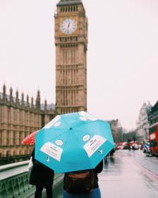 architecture, building, infrastructure, sky, skyscraper, tower, landmark, city, urban, skyline, big ben, london, people, travel, rain, umbrella