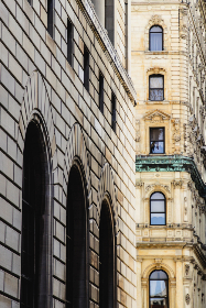 ornate,   building,   exterior,   city,   urban,   windows,   neighborhood,   old,   stone,   brick,   architecture,  apartment