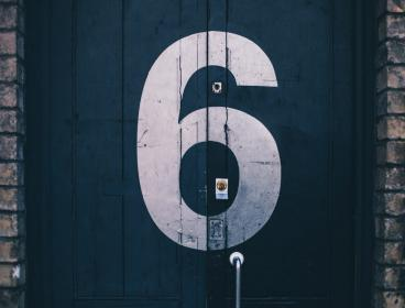 free photo of six  number