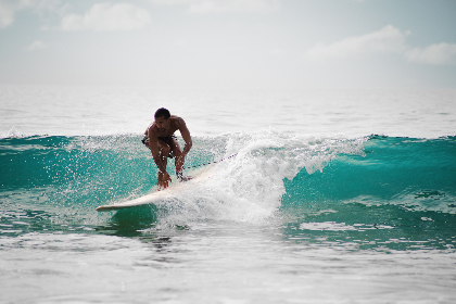 free photo of surfer  ocean