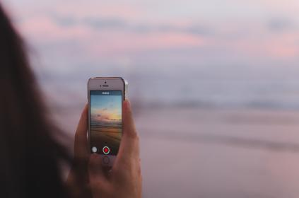mobile, phone, camera, photography, electronic, gadget, modern, technology, touchscreen, record, nature