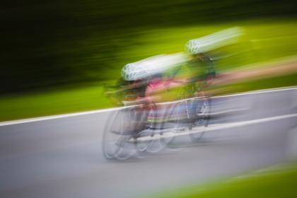 bike, bicycle, cyclist, sport, game, racing, speed, road, blur