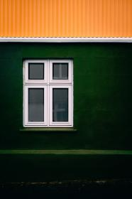 places, windows, structure, glass, green, yellow