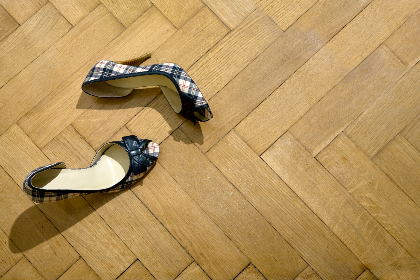 shoes,  floor,  heel,  object,  wood, stiletto, pattern, boutique, elegant, fashion, footwear, shop, wear