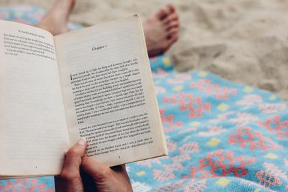 people, reading, book, bed, room, relax