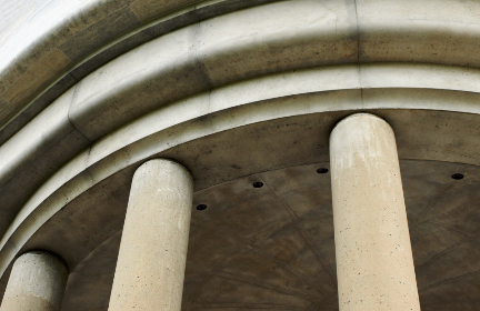 pillars,   building,   structure,   landmark,   weathered,   roman,   ornate,   classic,   detail,   design,  columns,  architecture,  old,  curved,  ceiling