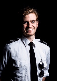 free photo of portrait   pilot