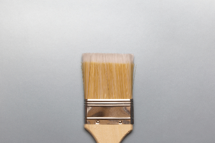 paint,  brush,  flat lay,  gradient,  background,  isolated,  object,  flatlay,  design,  art,  creative,  close up,  texture,  bristles,  shiny,  silver,  minimal,  clean,  simple,  painting,  painter,  abstract,  wallpaper,  craft,  pastel,  studio,  style