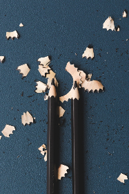 Shaved Pencils