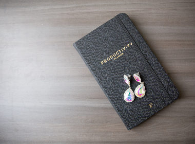 journal,   pen,   desk,   flat lay,   notebook,   paper,   note,   top,   view,   wooden,   desktop,   diary,   objects,   closed,  earrings,  jewelry