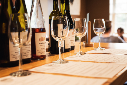 wine,  tasting,  glass,  bottles,  menu,  glasses,  event,  winery,  alcohol,  drink,  restaurant,  party,  wines,  glassware,  table