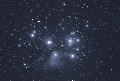 pleiades,  night,  stars,  starry,  sky,  astronomy,  space,  galaxy,  constellations,  dark,  deep space,  cluster,  universe,  interstellar,  cosmos,  telescope,  nature