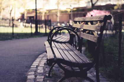 free photo of chair  bench