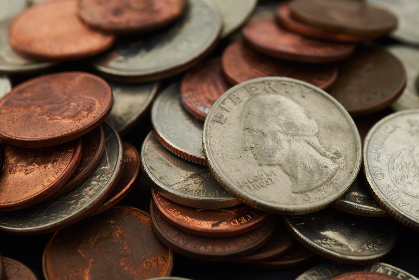 coins,  currency,  money,  background,  macro,  metal,  cash,  cents,  business,  copper,  silver,  coin,  penny,  quarter,  dime,  usa