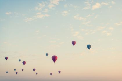 hot, air, balloon, up, basket, sun, sky, fly, fire, colors, clouds, adventure
