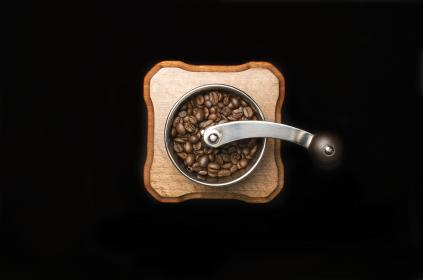 coffee, bean, seed, brown, cafe