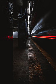 city,  subway,  train,  rail,  motion,  night,  metro,  transportation,  commute,  moving,  blur,  lights,  urban,  citylife