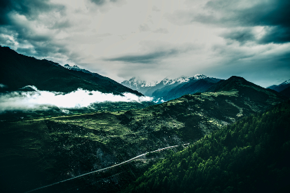 Morning,  Fog,  mist,  China,  mountains,  mountain,  Four Sisters,  landscape,  Earth,  sky,  scenery,  clouds,  sunrise,  cloudy