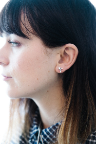 portrait,   female,   woman,   profile,   person,   close up,  ear,  earing,  jewerly,  hair,  posing,  eye