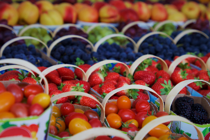 fresh,  fruit,  market,  store,  assortment,  colorful,  food,  healthy,  basket,  bag,  sale,  produce,  organic,  berries,  background