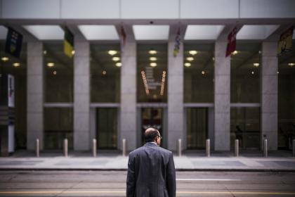 guy, man, suit, corporate, business, office, building, street, road, city, urban, people