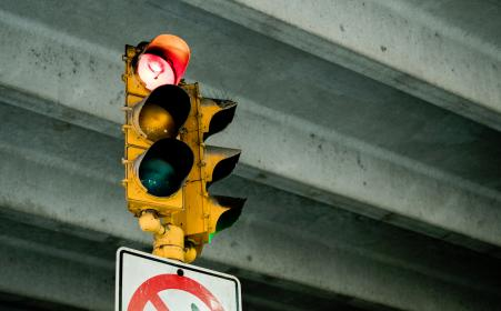 sign, stoplight, green, yellow, city, traffic