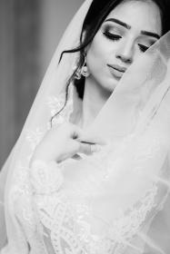 people, girl, woman, bride, white, wedding, gown, dress, makeup, beauty