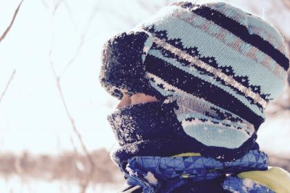 people, kid, child, baby, snow, winter, beanie, cold, weather