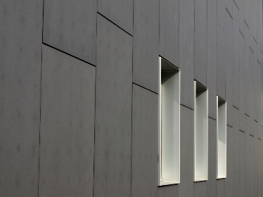 exterior,  wall,  windows,  building,  architecture,  industrial,  minimal,  business,  office,  outdoor,  facade,  city,  urban,  pattern,  perspective