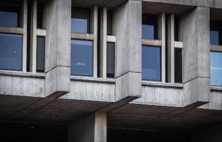 city,   building,   exterior,   urban,   windows,   architecture,   design,   business,   office,   structure,   abstract,   concrete,  modern,  overhang
