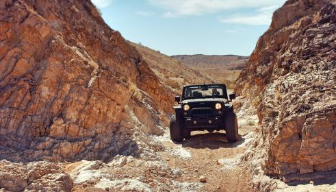 jeep, land, vehicle, travel, road, trip, rocks, mountain, off road, cliff, hill, landscape, outdoor