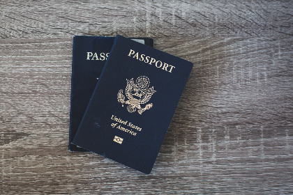 passport,  table,  travel,  close up,  flat lay,  wood,  american,  document,  citizen,  concept,  identification,  book