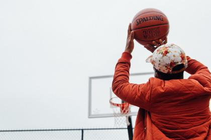 people, man, guy, playing, basketball, sport, game, ball, ring