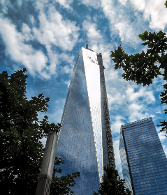 nyc,  wtc,  freedom tower,  city,  sky ,  clouds,  amazing, architecture, building, skyscraper