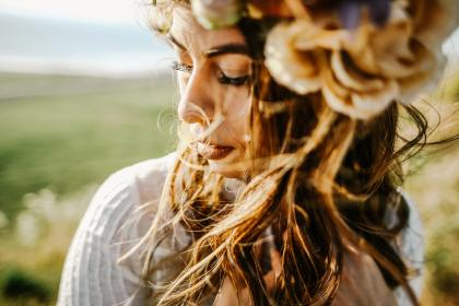 people, girl, woman, curly, hair, hairstyle, wedding